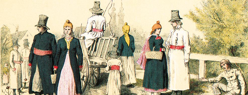 Portret Polaków, XIX wiek – Stroje regionalne